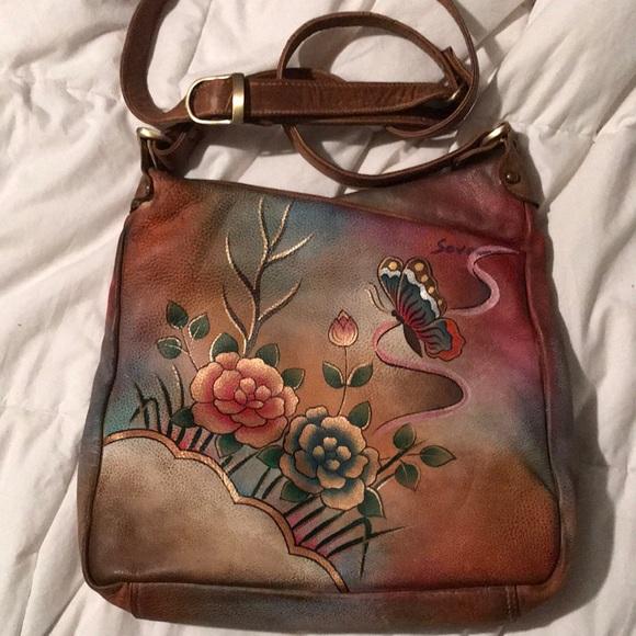 sova Bags   Hand Painted Purse   Poshmark 9ab9b641b5